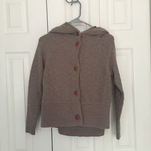 Anthropologie Wool Cape Sweater